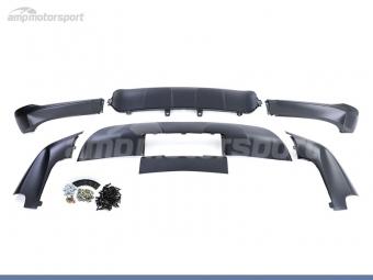 KIT SPOILERS DELANTERO Y TRASERO PARA BMW X5 E70 06-10