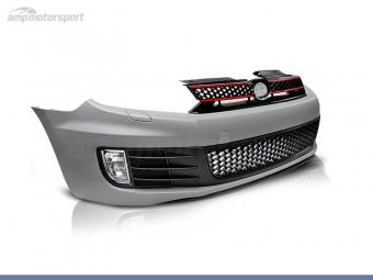 PARAGOLPES DELANTERO PARA VOLKSWAGEN GOLF MK6 LOOK GTI