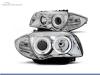 FAROIS DIANTEIROS ANGEL EYE PARA BMW SERIE 1 E81 / E87 / E82 / E88