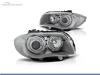 FAROS DELANTEROS OJOS DE ANGEL LED PARA BMW SERIE 1 E81 / E87 / E82 / E88