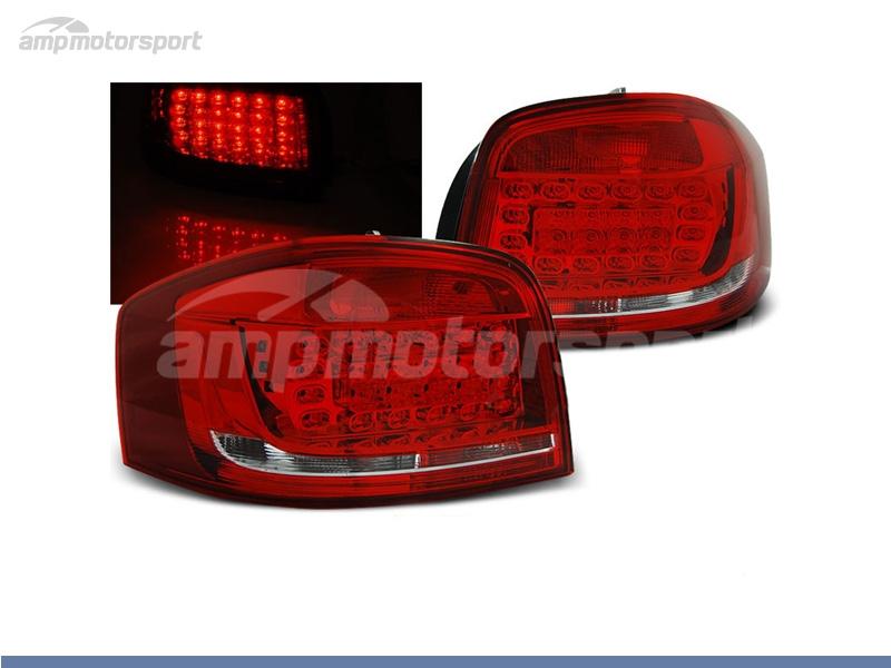 FAROLINS LED PARA AUDI A3 8P 2008-2012