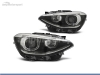 FAROIS DIANTEIROS ANGEL EYE LED PARA BMW SERIE 1 F20 / F21