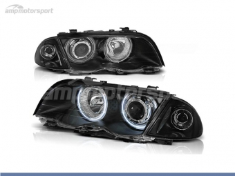 FAROIS DIANTEIROS ANGEL EYE CCFL PARA BMW SERIE 3 E46 / BERLINA / TOURING