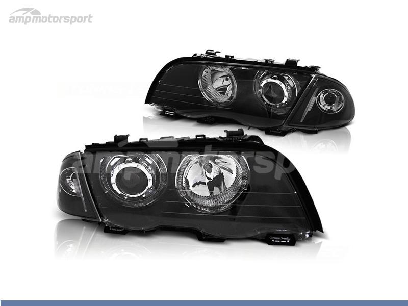 FAROIS DIANTEIROS ANGEL EYE LED PARA BMW SERIE 3 E46 / BERLINA / TOURING