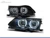 FAROIS DIANTEIROS ANGEL EYE CCFL PARA BMW SERIE 3 E46 / BERLINA / TOURING