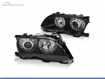 FAROIS DIANTEIROS ANGEL EYE LED PARA BMW SERIE 3 E46 / BERLINA / TOURING