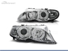 FAROIS DIANTEIROS ANGEL EYE PARA BMW SERIE 3 E46 / BERLINA / TOURING