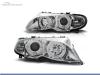 FAROS DELANTEROS OJOS DE ANGEL PARA BMW SERIE 3 E46 / BERLINA / TOURING