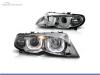 FAROIS DIANTEIROS ANGEL EYE 3D U PARA BMW SERIE 3 E46 / BERLINA / TOURING