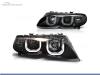 FAROS DELANTEROS OJOS DE ANGEL 3D U PARA BMW SERIE 3 E46 / BERLINA / TOURING