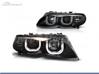 FAROIS DIANTEIROS ANGEL EYE 3D U PARA BMW SERIE 3 E46 / BERLINA / TOURING