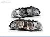 FAROS DELANTEROS OJOS DE ANGEL PARA BMW SERIE 3 E46 / COUPE / CABRIO