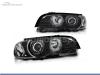 FAROIS DIANTEIROS ANGEL EYE CCFL PARA BMW SERIE 3 E46 / COUPE / CABRIO