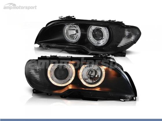 Faros Delanteros Ojos De Angel Para Bmw Serie 3 E46 Coupe Cabrio Amp Motorsport