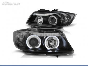 FAROIS DIANTEIROS ANGEL EYE PARA BMW SERIE 3 E90 / E91 / BERLINA / TOURING