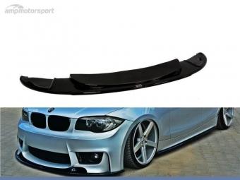 SPOILER LIP DIANTEIRO BMW 1 E87 LOOK M1 PRETO FOSCO
