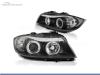 FAROS DELANTEROS OJOS DE ANGEL CCFL PARA BMW SERIE 3 E90 / E91 / BERLINA / TOURING