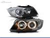 FAROS DELANTEROS OJOS DE ANGEL PARA BMW SERIE 3 E90 / E91 / BERLINA / TOURING