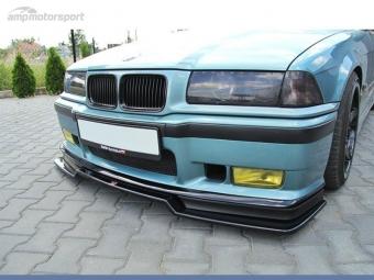 SPOILER LIP DIANTEIRO BMW M3 E36 PRETO BRILHANTE