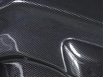 SPOILER LIP DIANTEIRO BMW E46 M3 LOOK CARBONO