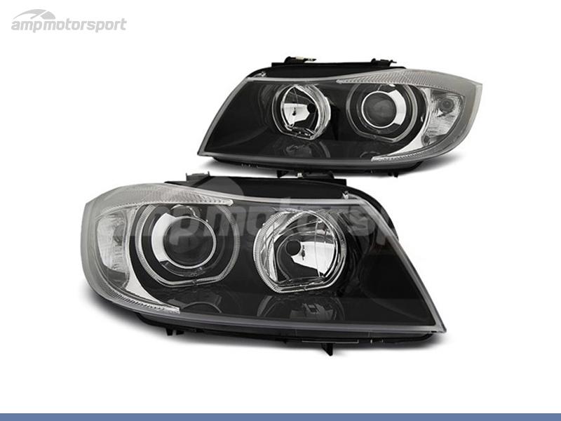 FAROIS DIANTEIROS ANGEL EYE LED PARA BMW SERIE 3 E90 / E91 / BERLINA / TOURING