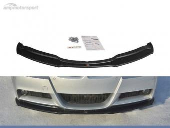 SPOILER DELANTERO BMW 3 E90/E91 NEGRO BRILLO