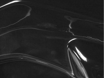 SPOILER DELANTERO BMW 3 F30 NEGRO BRILLO