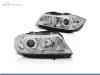 FAROIS DIANTEIROS ANGEL EYE LED 3D PARA BMW SERIE 3 E90 / E91 / BERLINA / TOURING