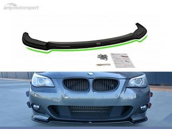 SPOILER LIP DIANTEIRO BMW 5 E60 / E61 LOOK CARBONO