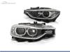 FAROS DELANTEROS OJOS DE ANGEL LED PARA BMW SERIE 3 F30 / F31 / BERLINA / TOURING