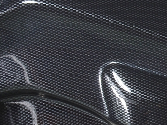 SPOILER LIP DIANTEIRO BMW Z4 E85 / E86 LOOK CARBONO