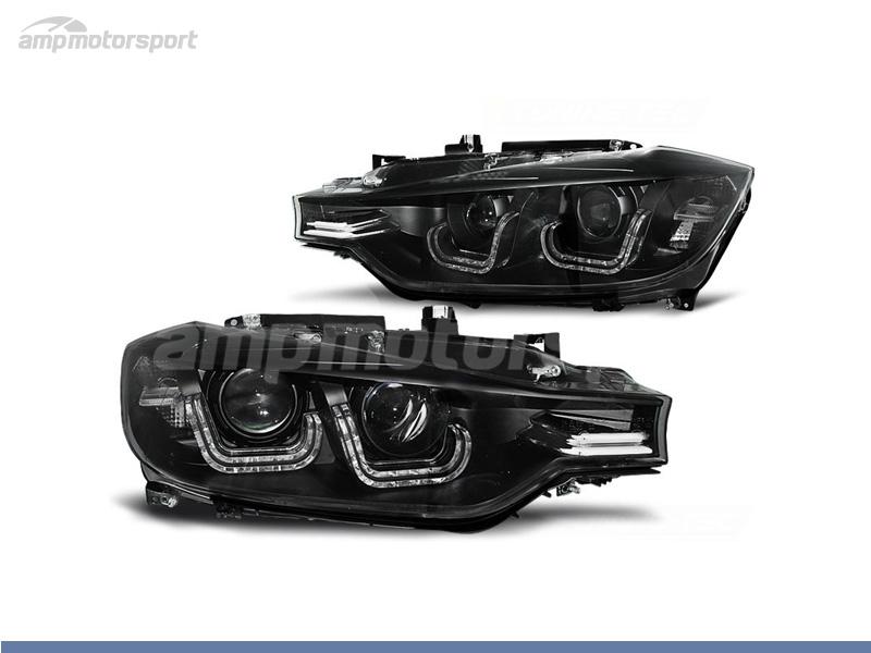 FAROS DELANTEROS U LED BAR PARA BMW SERIE 3 F30 / F31 / BERLINA / TOURING