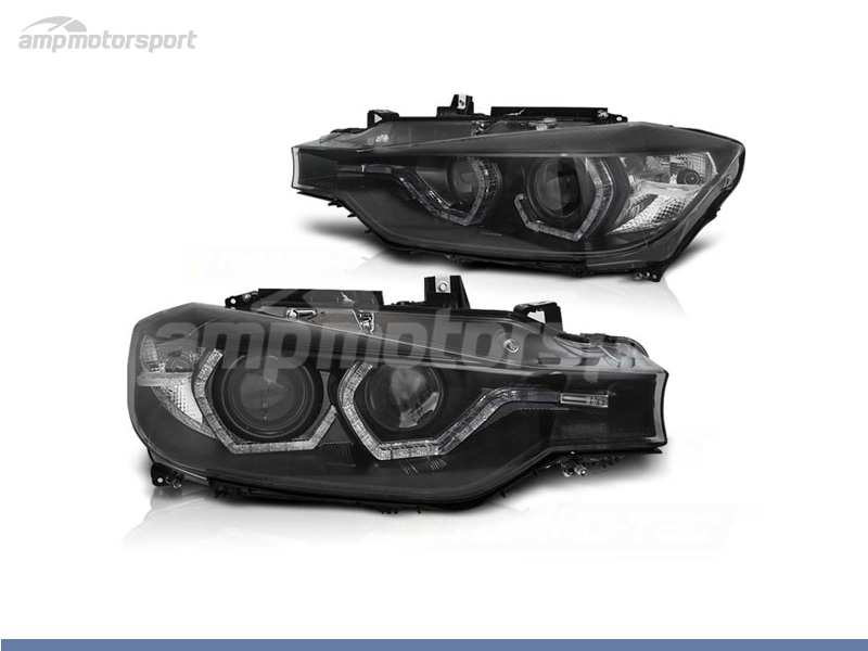 FAROIS DIANTEIROS ANGEL EYE LED DRL PARA BMW SERIE 3 F30 / F31 / BERLINA / TOURING