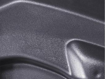 SPOILER LIP DIANTEIRO FIAT 500 ABARTH PRETO FOSCO