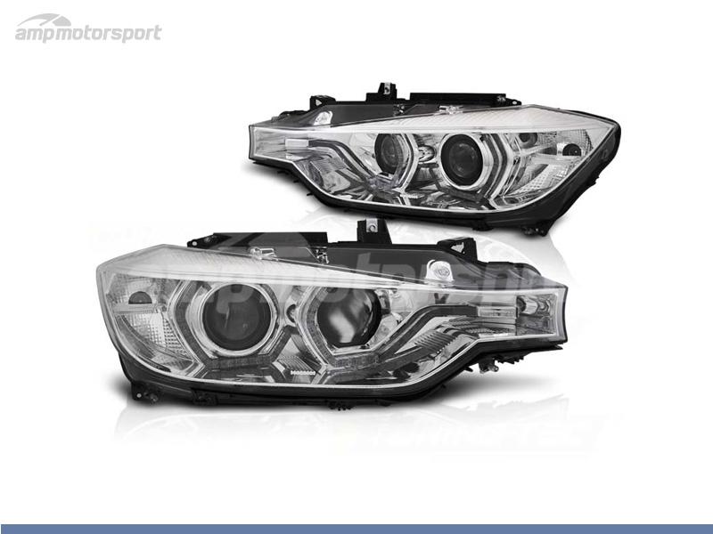 FAROS DELANTEROS OJOS DE ANGEL LED DRL PARA BMW SERIE 3 F30 / F31 / BERLINA / TOURING