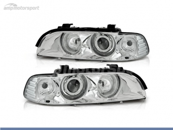 FAROIS DIANTEIROS ANGEL EYE PARA BMW SERIE 5 E39 / BERLINA / TOURING