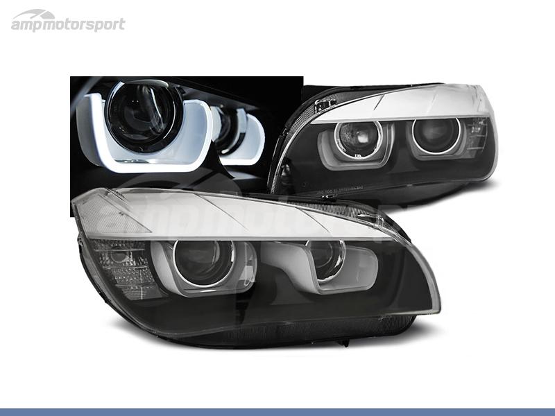 FAROS DELANTEROS OJOS DE ANGEL LED U PARA BMW X1 E84