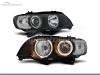 FAROIS DIANTEIROS ANGEL EYE XENON PARA BMW X5 E53