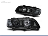 FAROIS DIANTEIROS ANGEL EYE CCFL PARA BMW X5 E53
