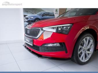 SPOILER DELANTERO VW GOLF MK5 GTI LOOK CARBONO