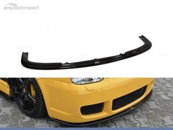 SPOILER LIP DIANTEIRO VW GOLF MK4 R32 PRETO FOSCO