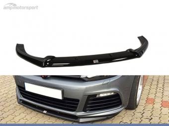 SPOILER LIP DIANTEIRO VW GOLF MK6 R PRETO FOSCO