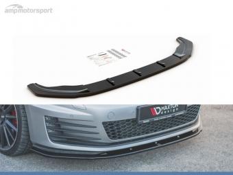 SPOILER LIP DIANTEIRO VW GOLF MK7 GTI PRETO BRILHANTE