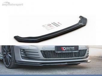 SPOILER LIP DIANTEIRO VW GOLF MK7 GTI LOOK CARBONO
