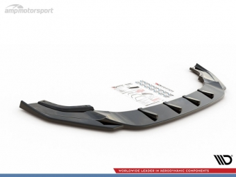 SPOILER DELANTERO AUDI RS4 B7 NEGRO MATE
