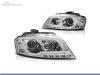 FAROIS DIANTEIROS LUZ DIURNA REAL TUBE LIGHT PARA AUDI A3 8P / 8PA