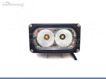 FOCO LED RECTANGULAR 30W 2 LEDS