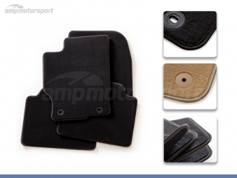 TAPETES DE VELUDO SUPREME FORD MUSTANG 2005-2014