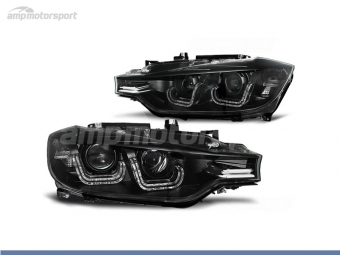 FAROIS DIANTEIROS XENON U LED BAR PARA BMW SERIE 3 F30 / F31 / BERLINA / TOURING