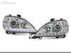 FAROS DELANTEROS LUZ DIURNA LED PARA MERCEDES CLASE ML W163